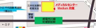 当院までの地図のイメージ